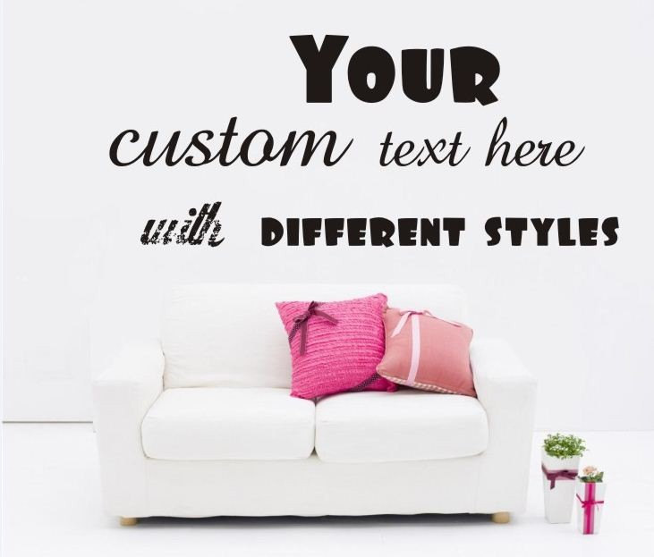 Custom Wall Decals Quotes. QuotesGram