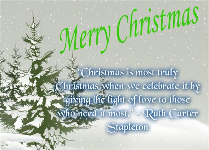 The 45 Best Inspirational Merry Christmas Quotes Of All: Christmas Quotes Famous People. QuotesGram