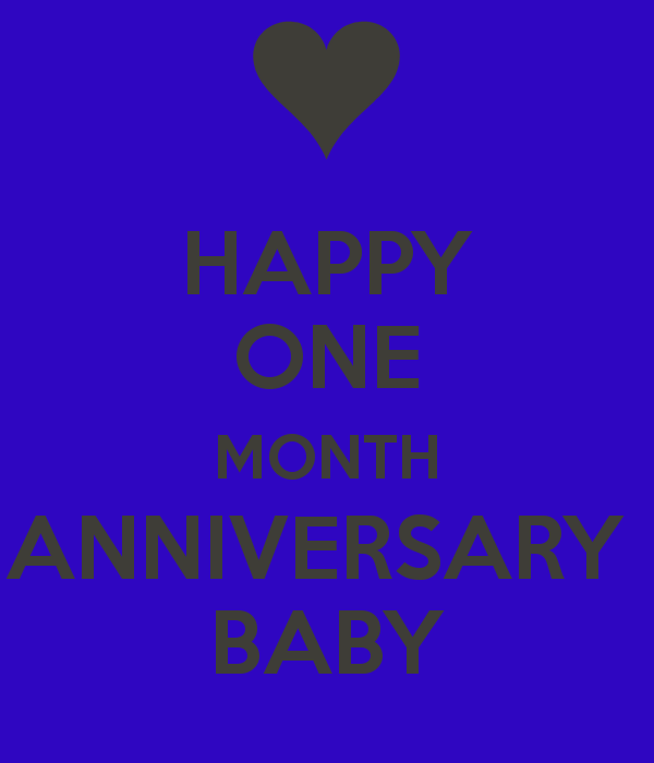 1 Month Anniversary Quotes For Boyfriend. QuotesGram