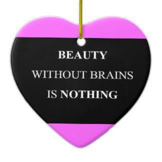 an essay on brains and beauty