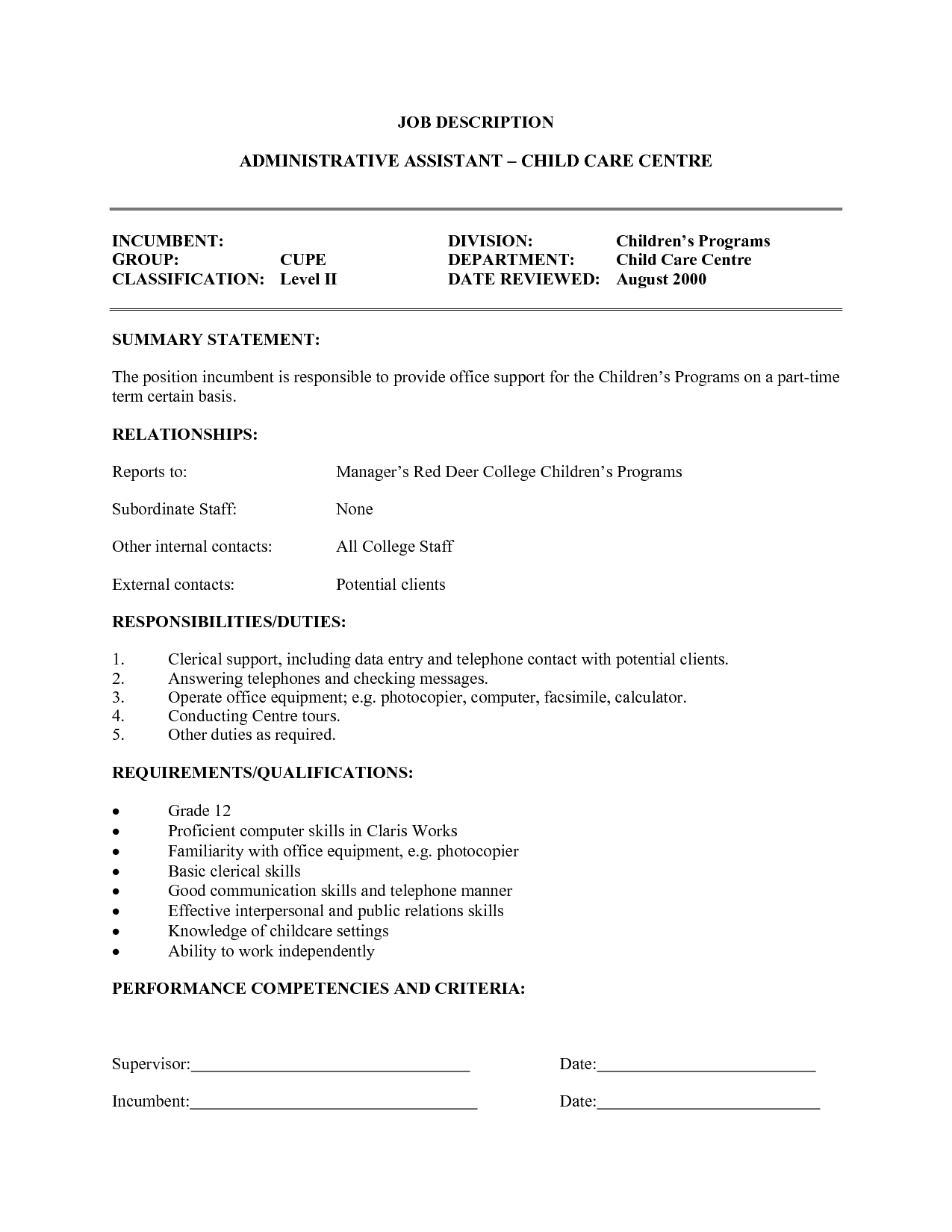 child care provider resume template design robinson