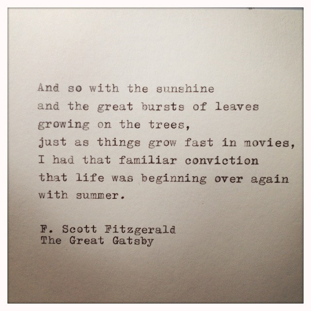 Best Quotes From The Great Gatsby Quotesgram