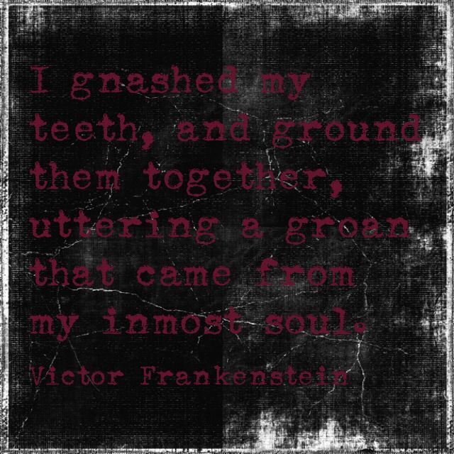 What are the causes of Victor Frankenstein's guilt in Frankenstein?
