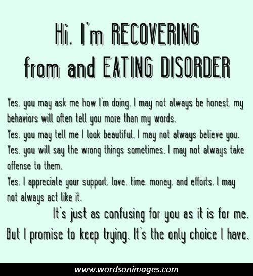 Ed Recovery Quotes Quotesgram: Inspirational Quotes About Eating Disorders. QuotesGram
