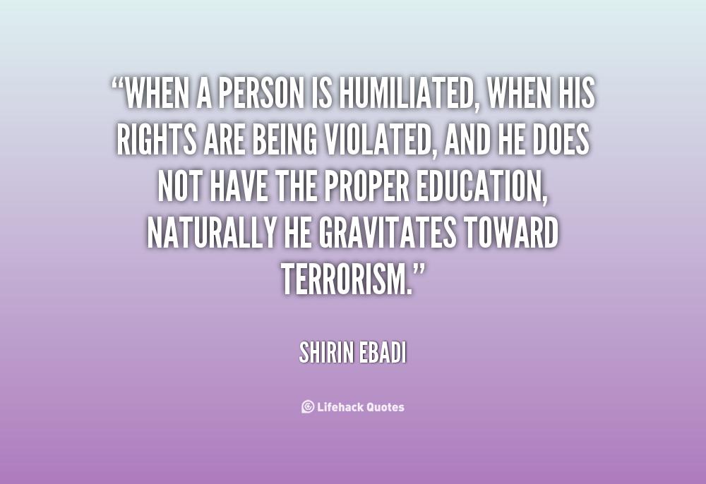 Humiliation Quotes. QuotesGram