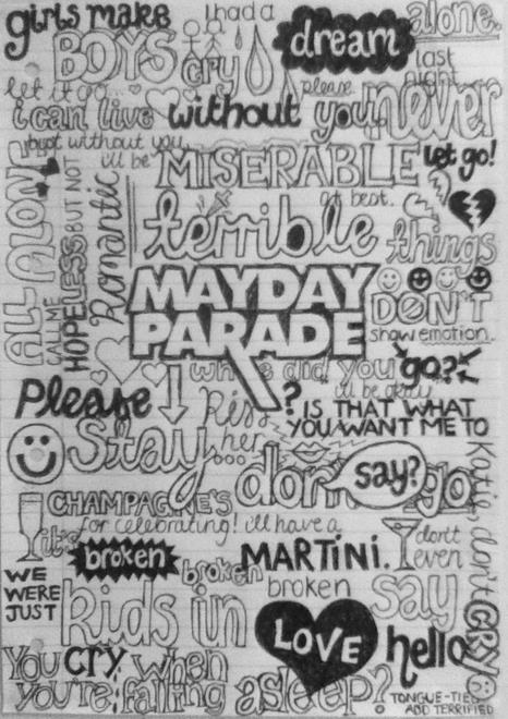 Quotes Mayday Parade Drawings Quotesgram