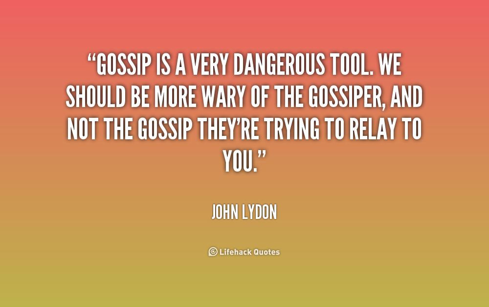 Quotes About Rumors Gossip Quotes Rumors H...
