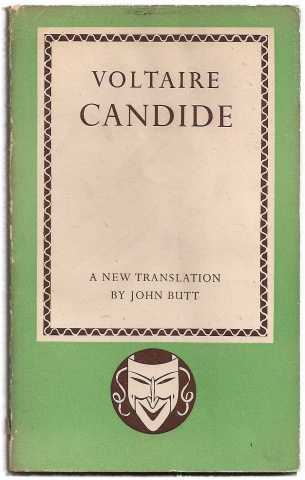 the outlook on life in voltaires candide With that said, this essay will focus on the author's understanding on the writer's intentions of candide's innocent outlook on life and the second.