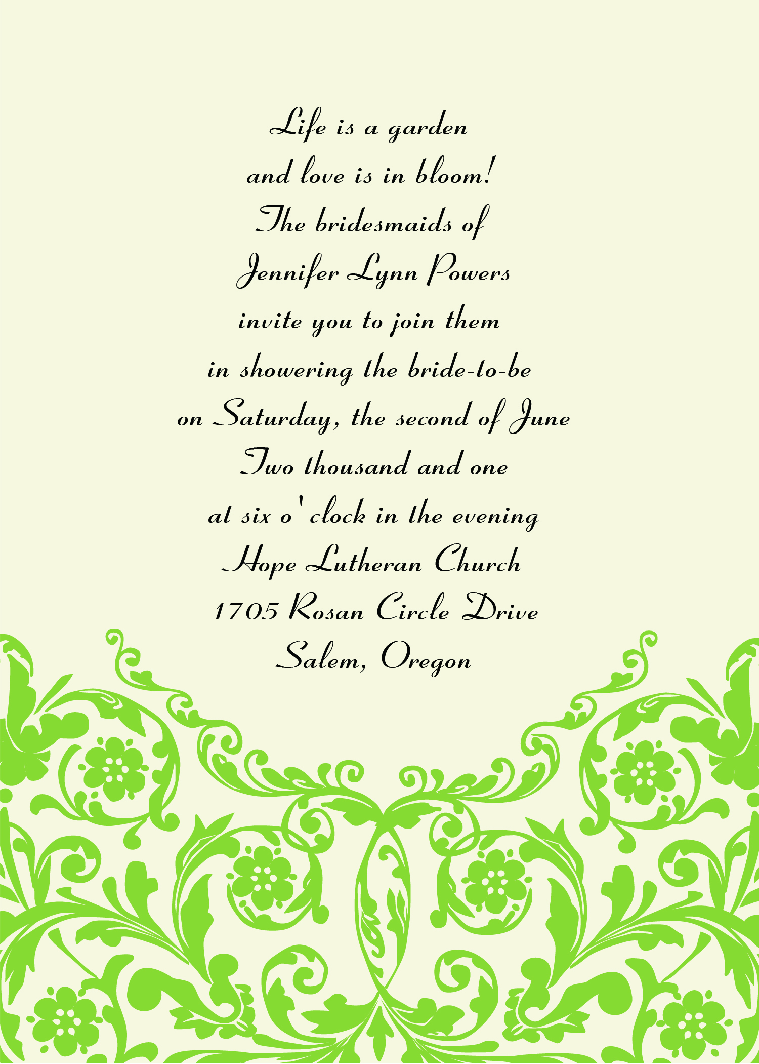 Wedding Invitation Sayings And Quotes. QuotesGram
