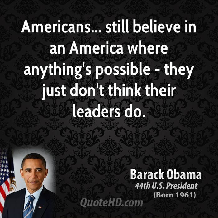 Beliefs about america