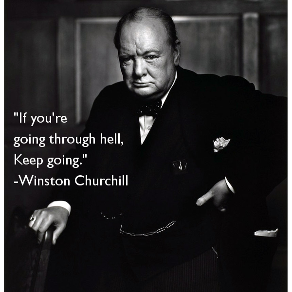 Winston Churchill Victory Quote: Hell Winston Churchill Quotes. QuotesGram