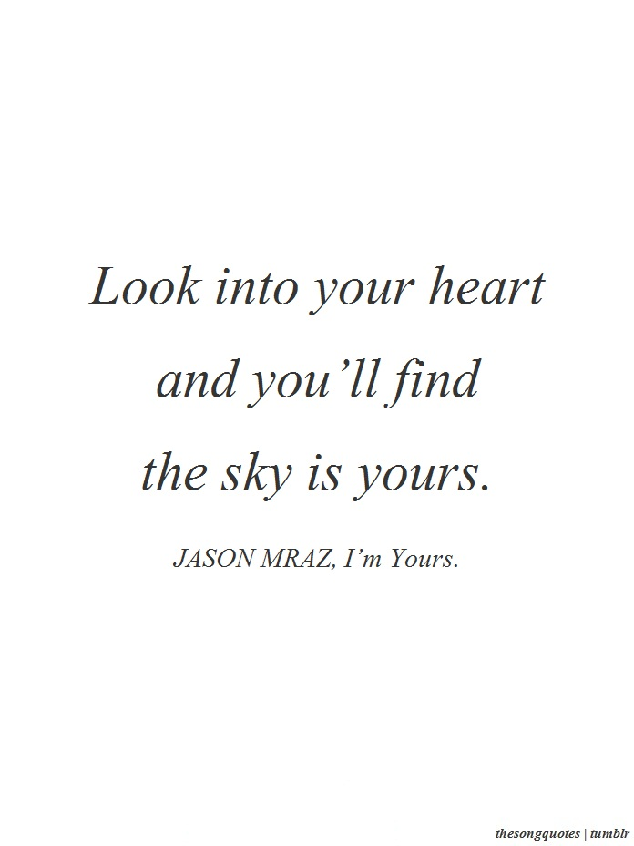 Jason Mraz Lyric Quotes Quotesgram