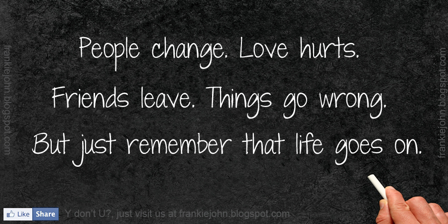 Quotes About Changing Friends: Sad Quotes About People Changing. QuotesGram