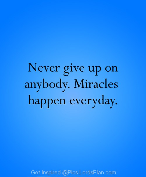 Motivational Inspirational Quotes: Inspirational Bible Quotes On Miracles. QuotesGram