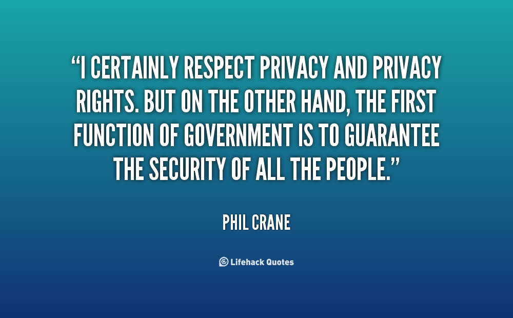 Quotes On Privacy Rights. QuotesGram