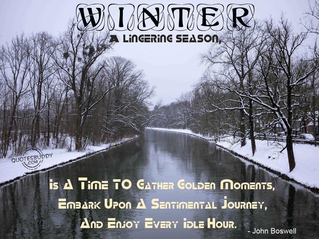 Winter Time Quotes. QuotesGram