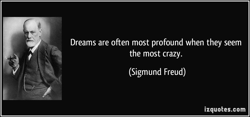 a discussion of freuds ideas on dreams and the human mind