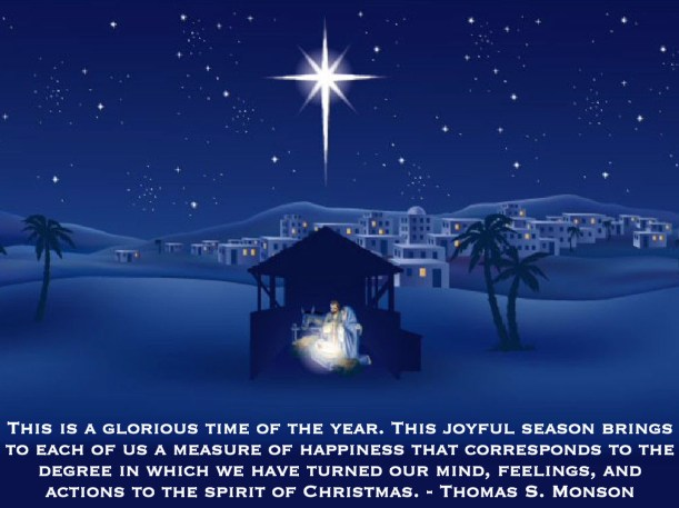 Get In The Spirit Christmas Lds Quotes: Lds Quotes About Jesus Birth. QuotesGram