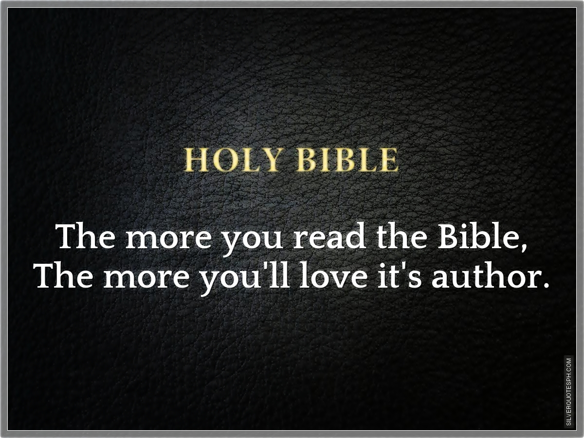 TOP 25 BIBLE STUDY QUOTES (of 64) | A-Z Quotes