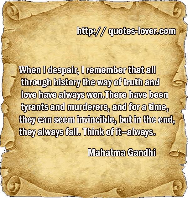 Despair Quotes: In Times Of Despair Quotes. QuotesGram