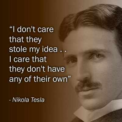 By Nikola Tesla Quotes Quotesgram