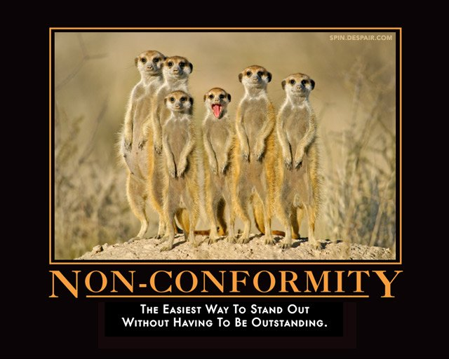 Individuality Vs Conformity Quotes Quotesgram