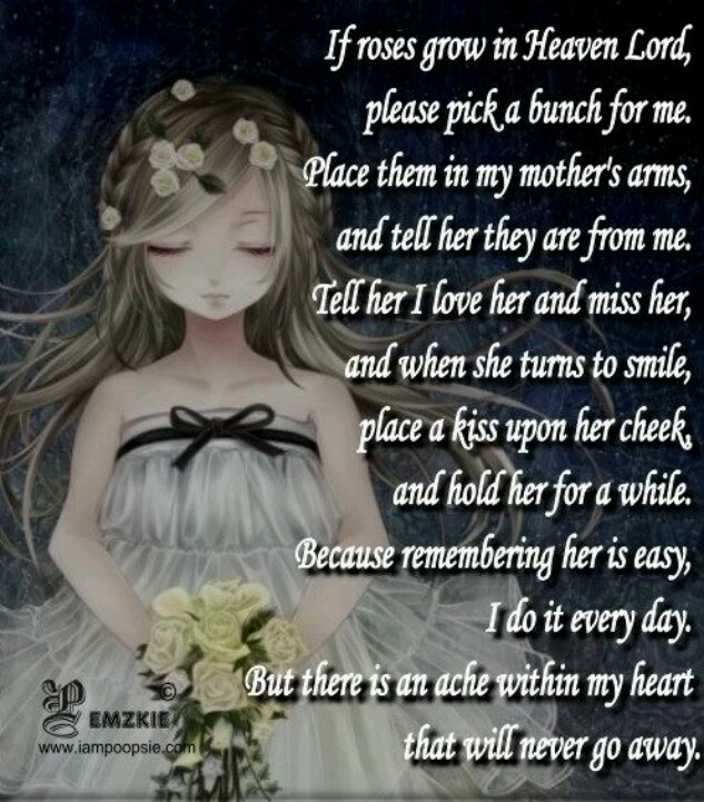 Sad I Miss You Quotes For Friends: In Memory Of Mother Quotes. QuotesGram