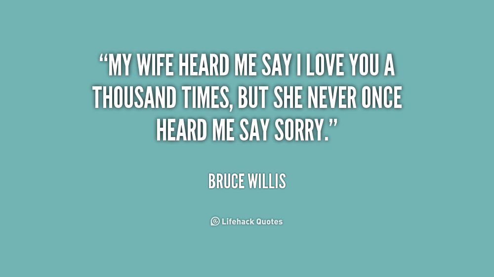 Love U Wife Quotes: I Love You Quotes For Wife. QuotesGram