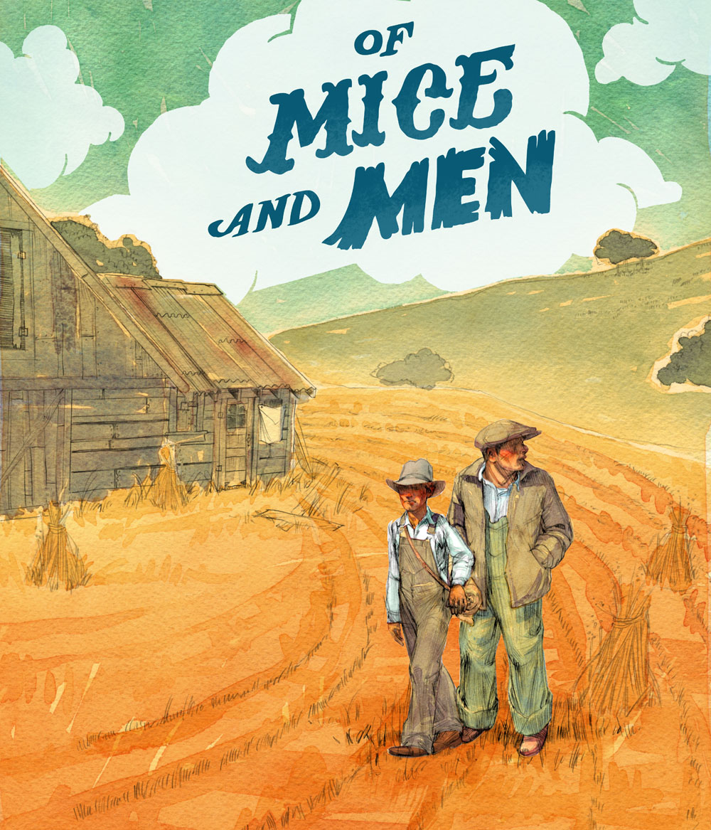 the unlikely pair of george and lennie in of mice and men by john steinbeck An unlikely pair, george and lennie nor predict the consequences of lennie's unswerving obedience to the things george taught him of mice and men john steinbeck.