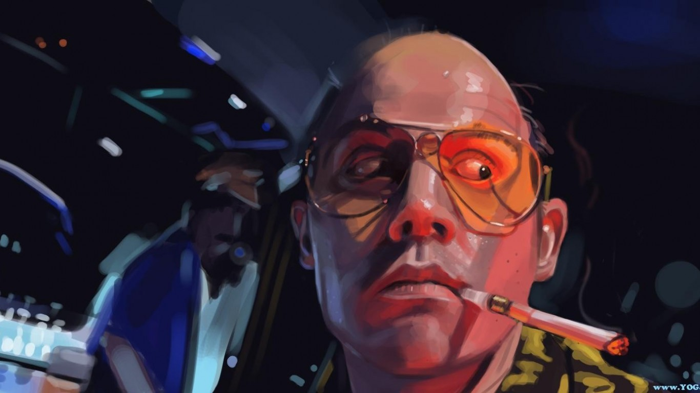 hunter s thompson quotes drugs quotesgram