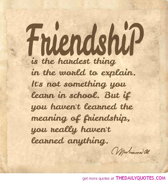 Inspirational Quotes About Friendships: Inspirational Friendship Poems And Quotes. QuotesGram