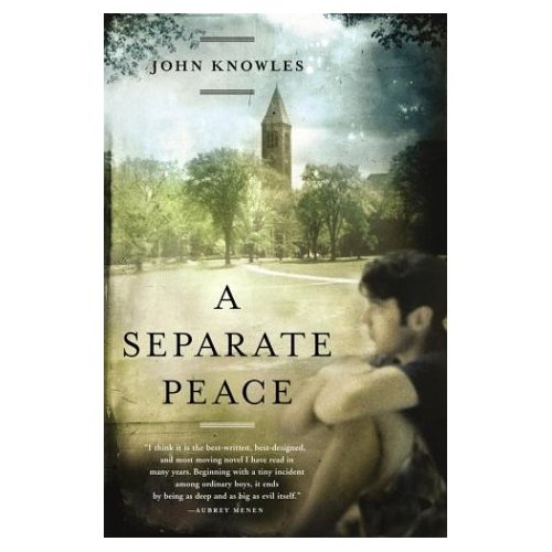 a separate peace essay on jealousy The narrative point of view in a separate peace is   during the rest of the  novel, gene's jealousy toward finny becomes stronger, such as during the game  of.