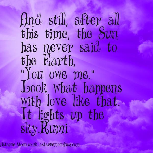 Quotes About Love: Rumi Birthday Quotes. QuotesGram