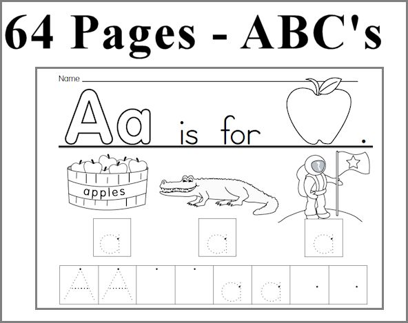 Free Worksheets » Learning To Write Letters And Numbers - Free ...