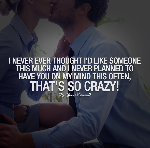 i never thought id meet a girl like you