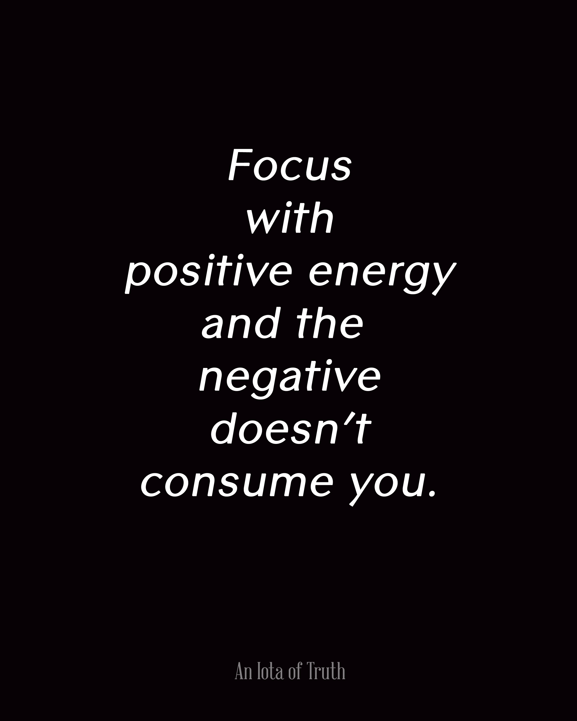 Positive Inspirational Quotes: Focus On The Positive Quotes. QuotesGram