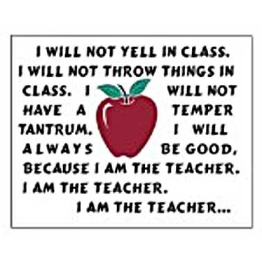 Funny Teacher Quotes And Sayings. QuotesGram