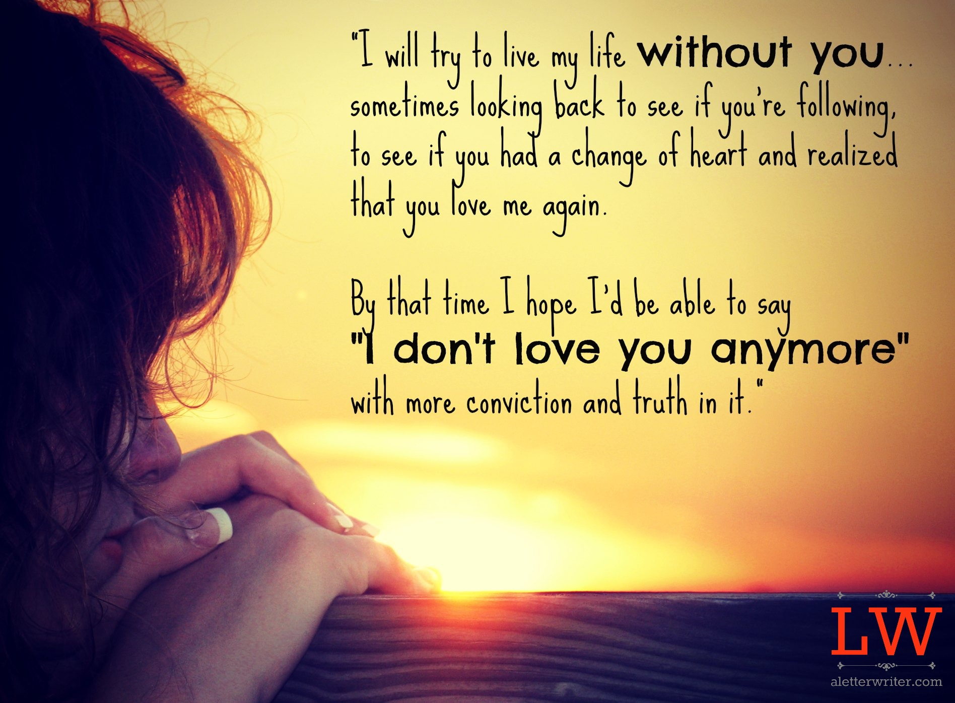 Sad break up quotes for her