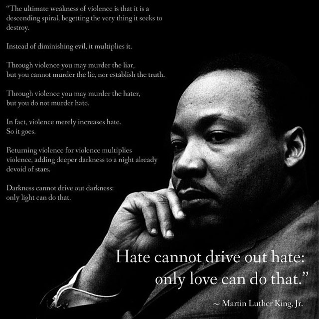 pros and cons of martin luther Martin luther king day commemorates the life and achievements of martin luther king jr, the influential american civil rights leader king is most renowned for his campaigns to end racial.