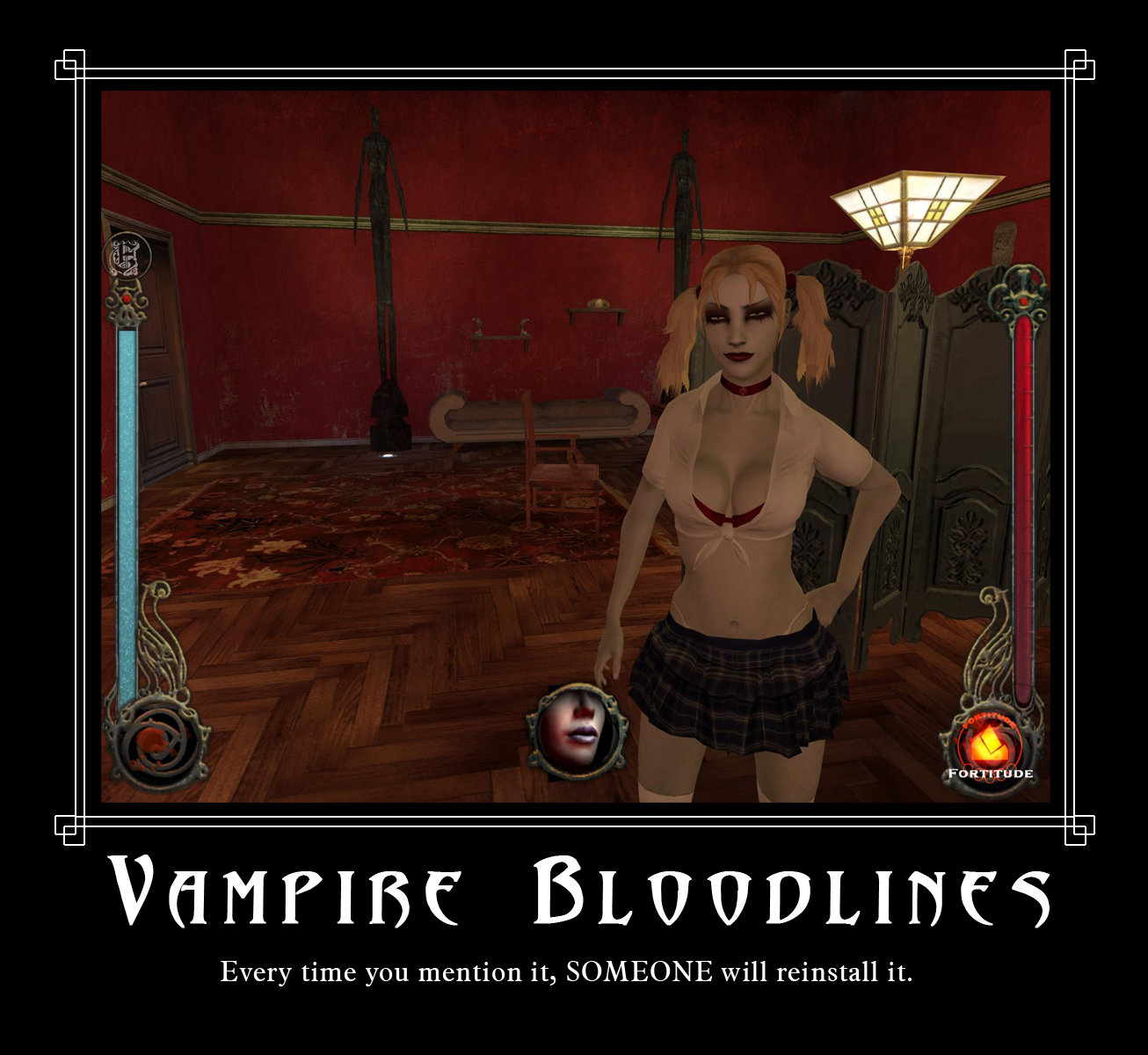 Vampire the masquerade bloolines nude mods hentai video