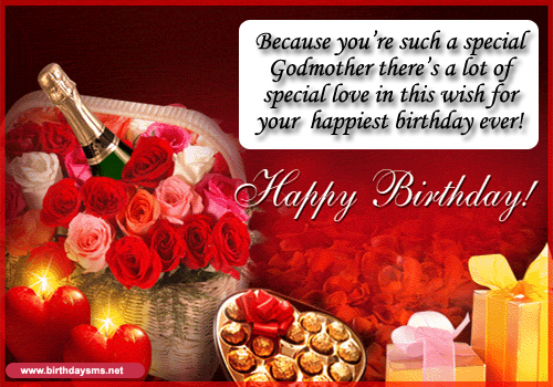 Happy Birthday Godmother Quotes. QuotesGram