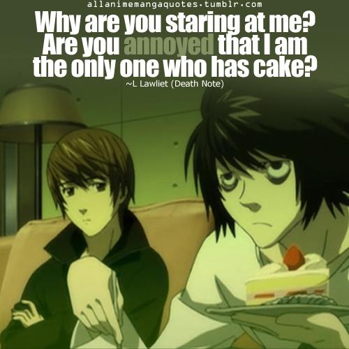 Death Note L Quotes. QuotesGram