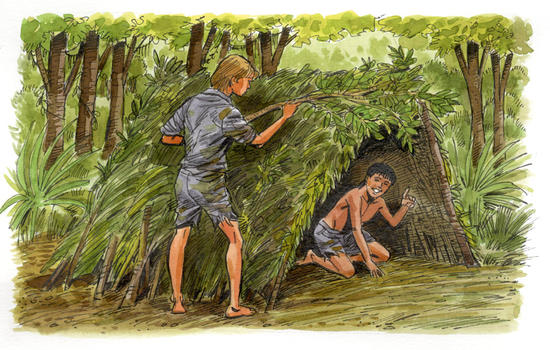 the theme of survival in lord of the flies As leader of the group, ralph knew what the group of boys needed to survive on the island unfortunately as demonstrated in lord of the flies.