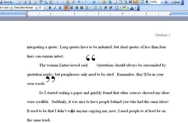 essays using quotes