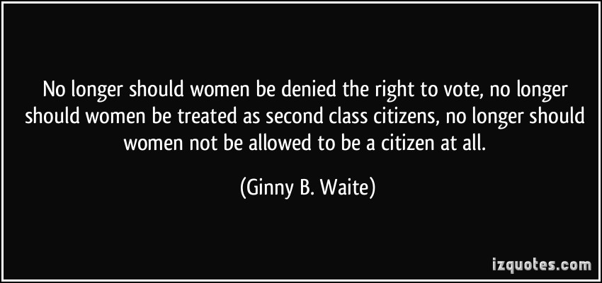 womens right to vote should be revoked Voting rights restoration in washington state if you are notified that a court or prosecutor intends to revoke your right to vote for failure to pay and firehouses you can also register online at wwwsecstatewagovby mail, or with organizations like the league of women voters.
