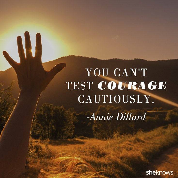 Inspirational Courage Quotes: Inner Strength And Courage Quotes. QuotesGram