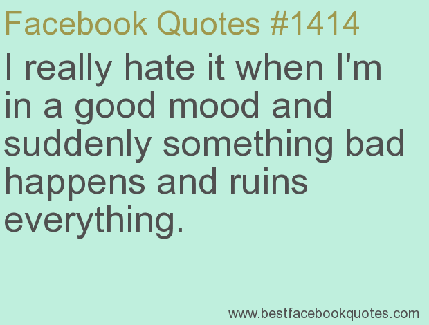 Im In A Bad Mood Quotes. QuotesGram