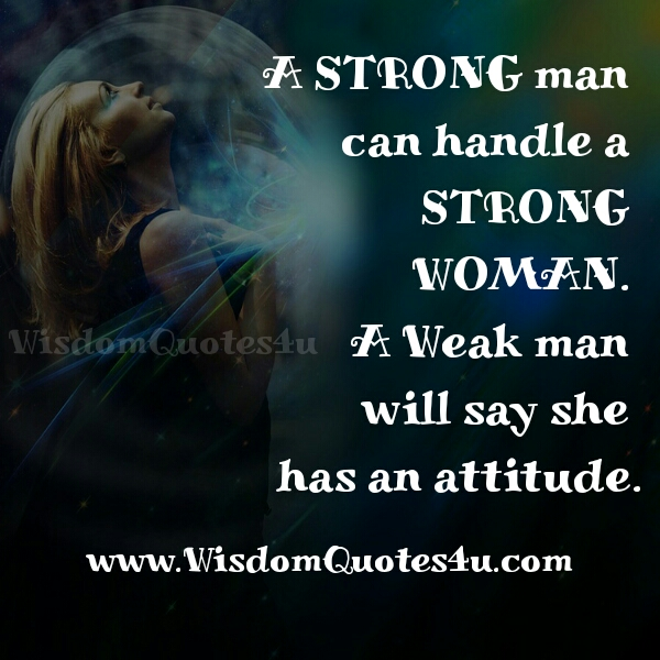 Dating a strong minded woman