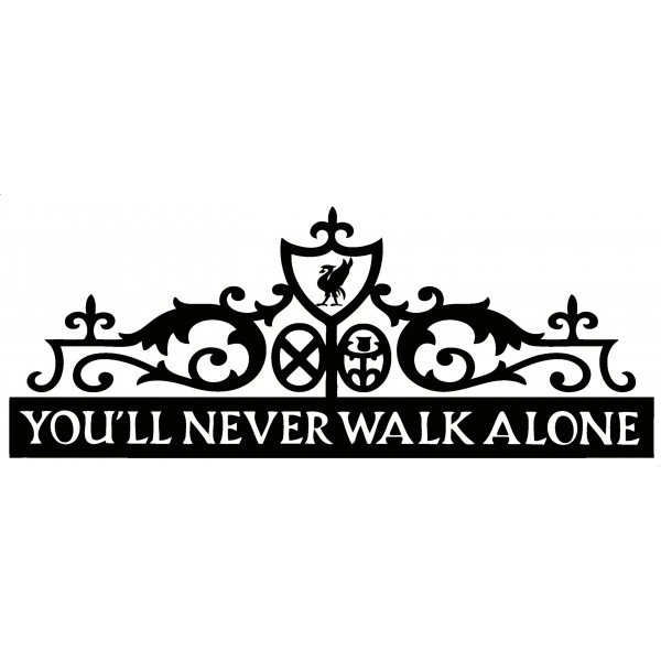 youll never walk alone quotes quotesgram. Black Bedroom Furniture Sets. Home Design Ideas