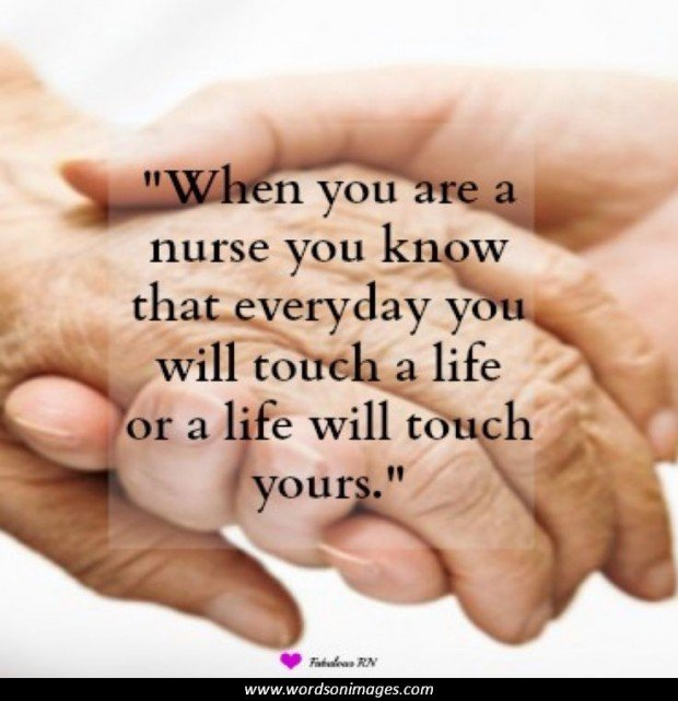 Positive Quotes For Nursing Students: Nurse Quotes Inspirational. QuotesGram